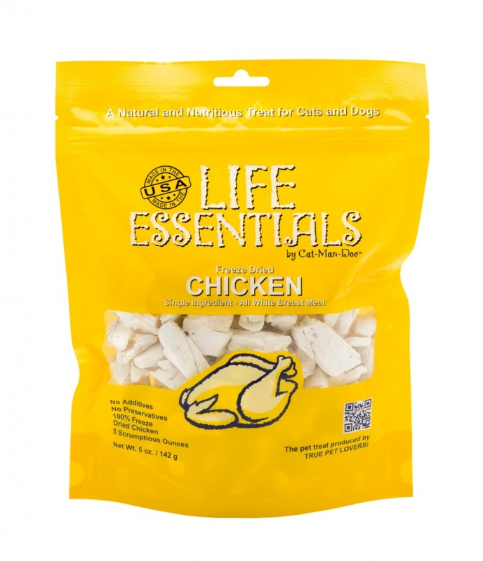 Life Essentials Freeze Dried Chicken, 5oz. Bag